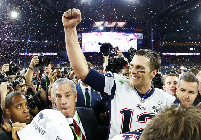 Happy 41st birthday to 5-time champion, 4-time Super Bowl MVP and 3-time MVP Tom Brady!