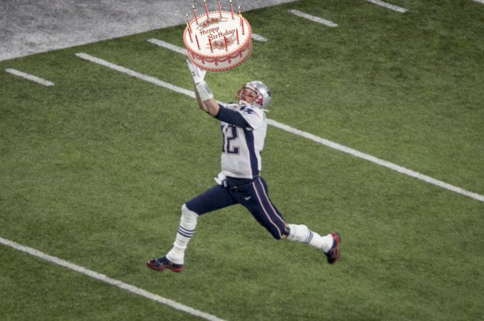 Happy birthday, Tom Brady