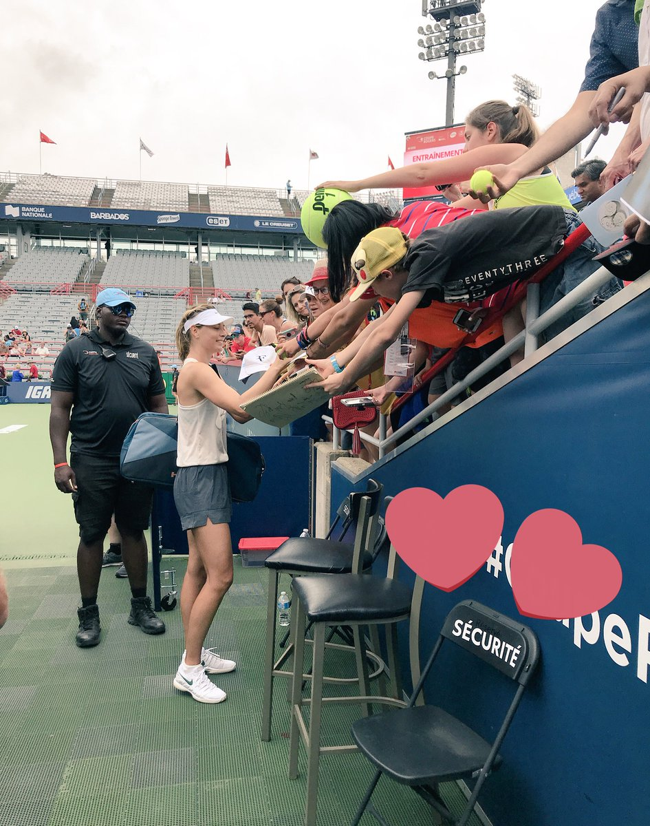 What a fun crowd to return to in #Montreal. And that was just practice ???? Thank you!! https://t.co/pzMqmUMeeu