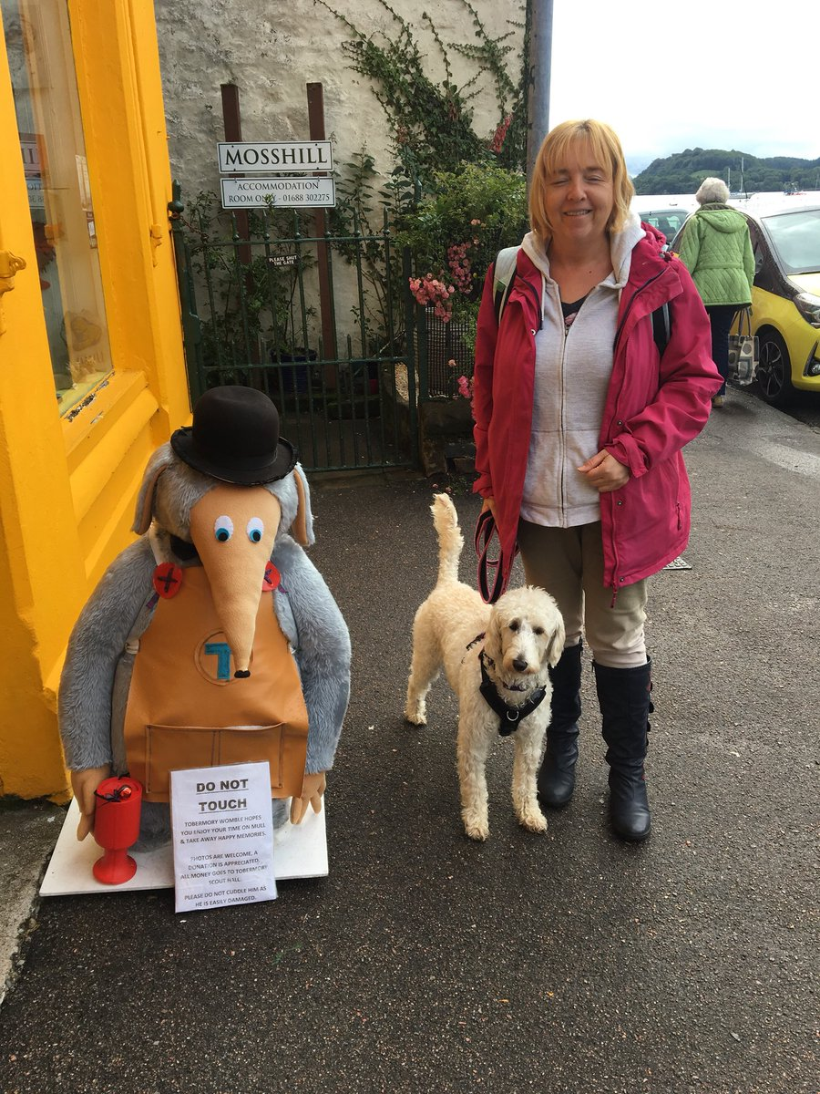 test Twitter Media - Miss Parkes & Daisy in Tobermory with Tobermory the Womble https://t.co/pG1sifAb5u
