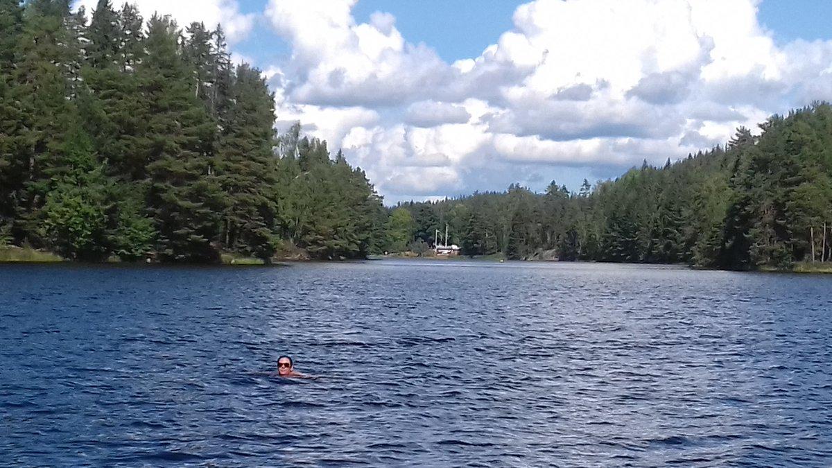 On profite des lacs suédois !