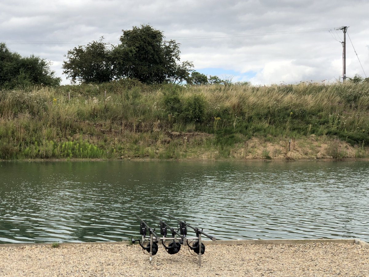 Isn't it nice just to sit back and relax behind the <b>Rods</b> :) #carp #fishing #carpfishing htt