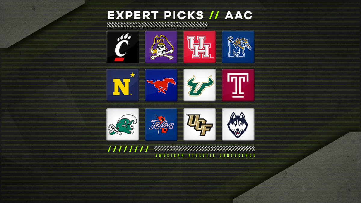 2018 AAC expert picks: Overrated, underrated teams and predicted order of finish  https://t.co/WAjyym6wqY https://t.co/AN0QSsEr6a