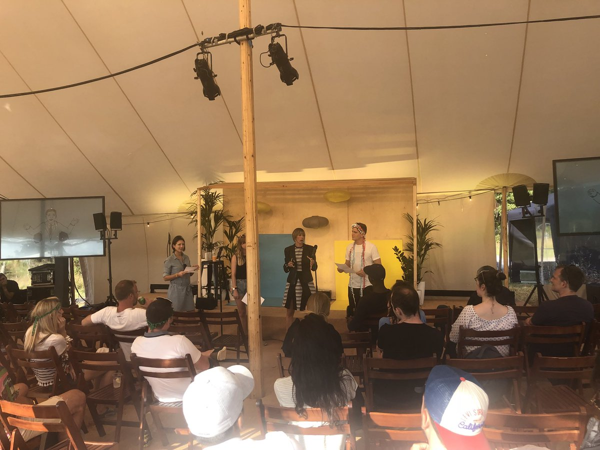 test Twitter Media - The brilliant @edielush getting #weworkers at the @WeWork summer camp to brave the stage and practise their #publicspeaking skills in front of everyone. What a festival! https://t.co/saWQffBjTy