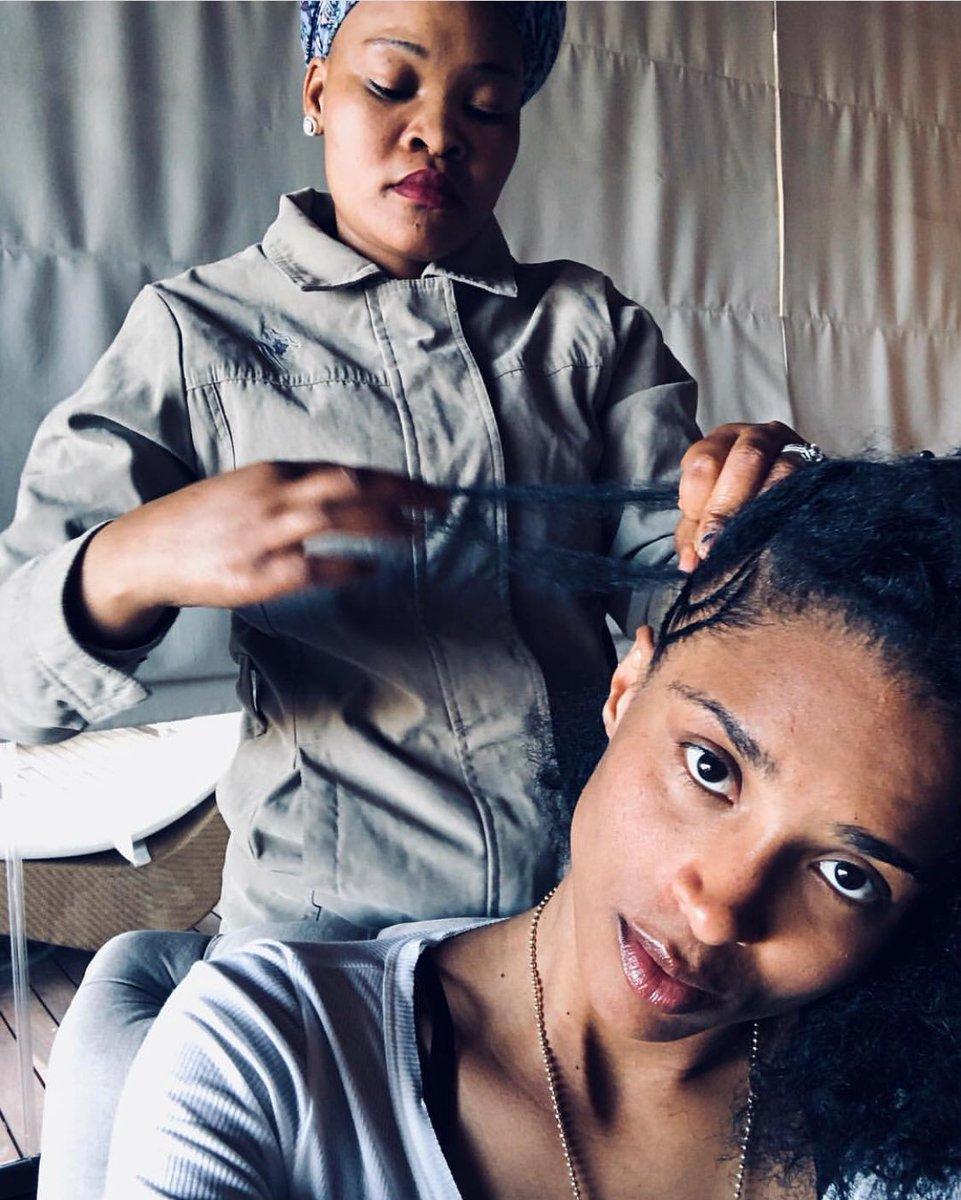 Braids by Patience in Madikwe ???????? https://t.co/mTBppJh2xG