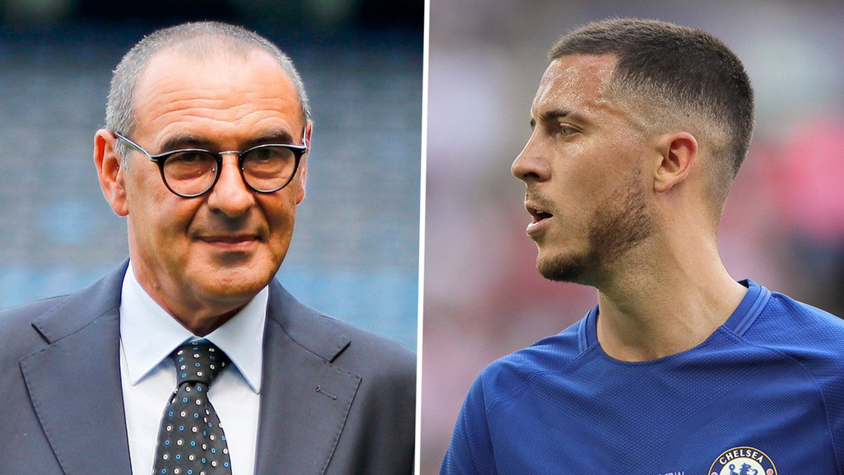 https://t.co/BYkXI163yq - Maurizio Sarri Pede Eden Hazard Tidak Pindah ke Real Madrid https://t.co/TPVdZyJUGk