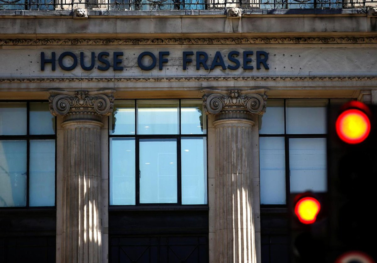 RT @Independent: House of Fraser cancels online orders and stops accepting gift cards https://t.co/qGU10VEVFd https://t.co/hXDqG8H15H