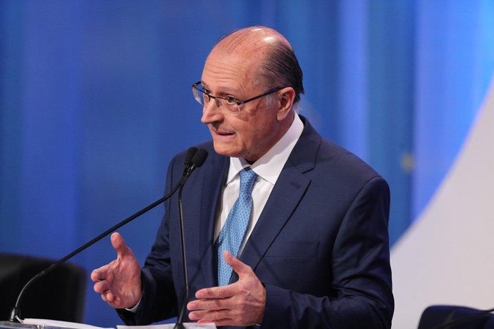 @BroadcastImagem: Alckmin culpa PT por 'descontrole' das contas públicas, ao justificar apoio ao teto/gastos. Daniel Teixeira/Estadão