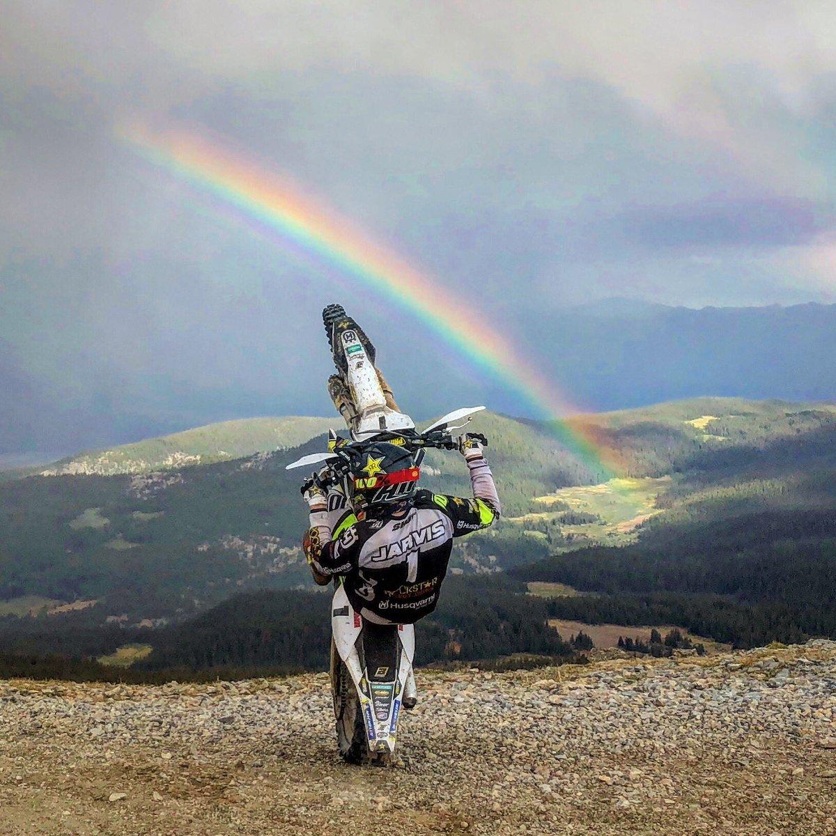 #Colorado #jarvisstyle @Husqvarna1903 @Rockstar_Racing @RawSport93 @AirohHelmet @fmf73 #RockstarHusky https://t.co/pNEg0T87Sv
