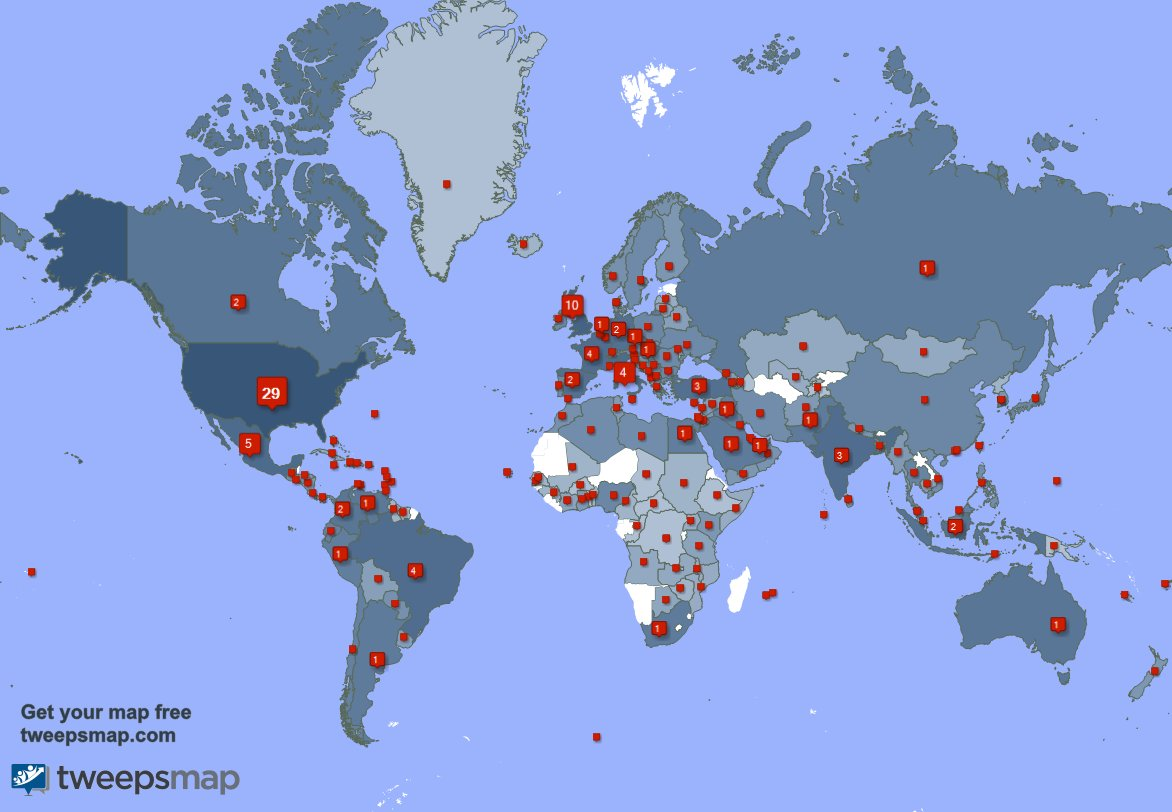 Special thank you to my 454 new followers from USA, Mexico, Turkey, and more last week. 61O21jzJ1V