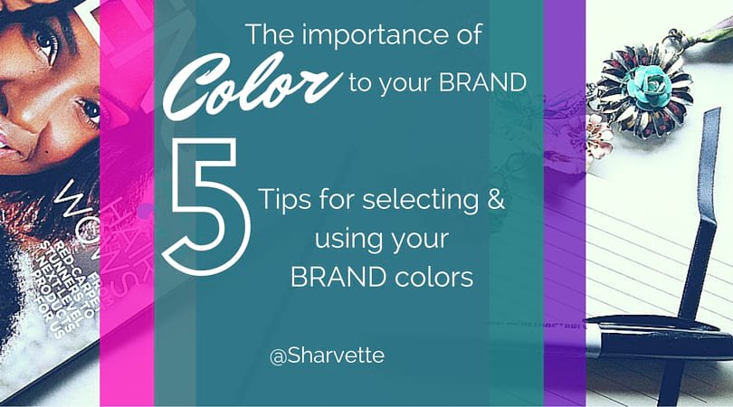 Selecting colors for your Brand (logos, website and graphics)? Read my blog...