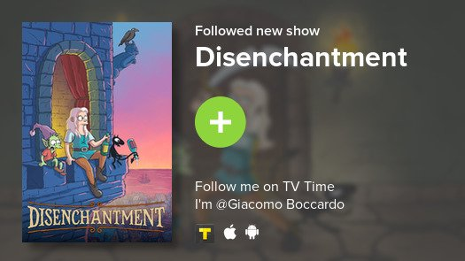 test Twitter Media - I just added Disenchantment to my library! #tvtime https://t.co/4DWm2SQfuy https://t.co/xQUhd96PHn