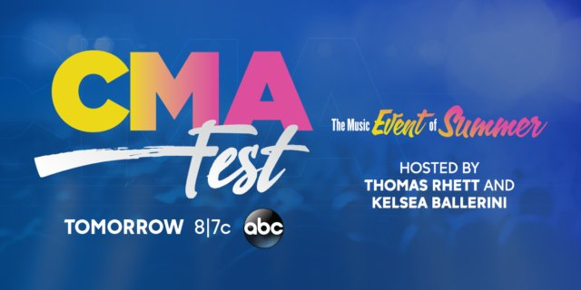 We can't wait for #CMAFest tomorrow night on ABC. 😃🤠 https://t.co/ttxwWLks3j