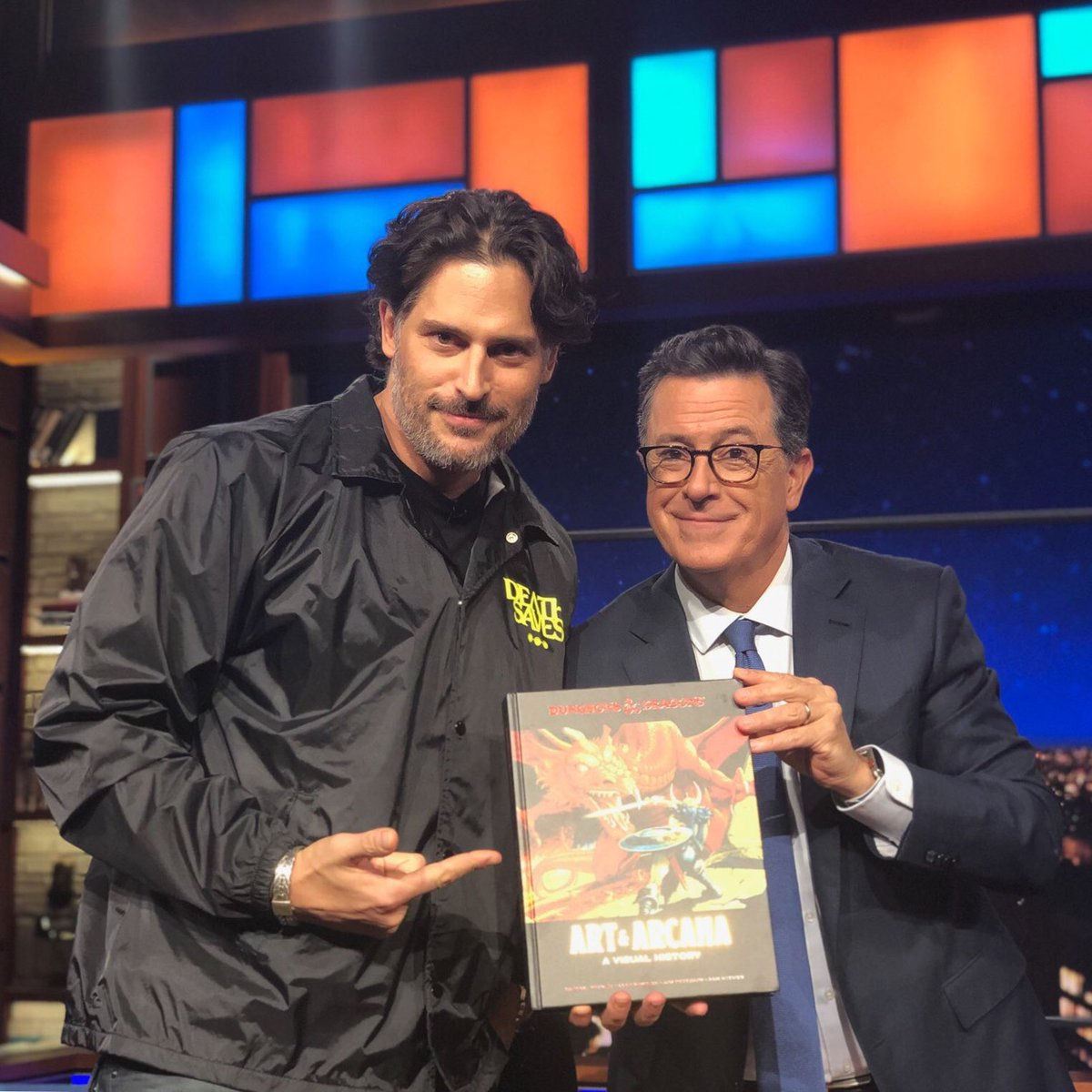 RT @JoeManganiello: Grab your Dungeon Master's Guide, roll for initiative, and join us TONIGHT on  The Late Show!!! https://t.co/apjMiXXoYH