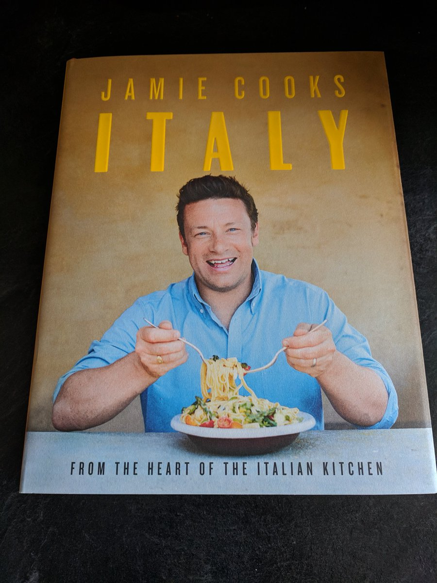 RT @FlettDarryl: Finally arrived..happy days #JamieCooksItaly  @jamieoliver https://t.co/fQASSne6vU
