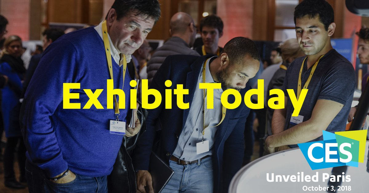 Get your product seen by leading tech media at #CESUnveiledParis. Reserve your space today https://t.co/avf5eDkoPn https://t.co/fGAJs0Jbds