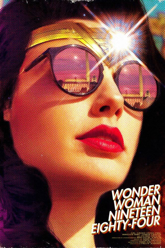 RT @iGeekClub: Póster ochentero de Wonder Woman 1984 por MessyPandas. #WW84 https://t.co/mknFXchHCm