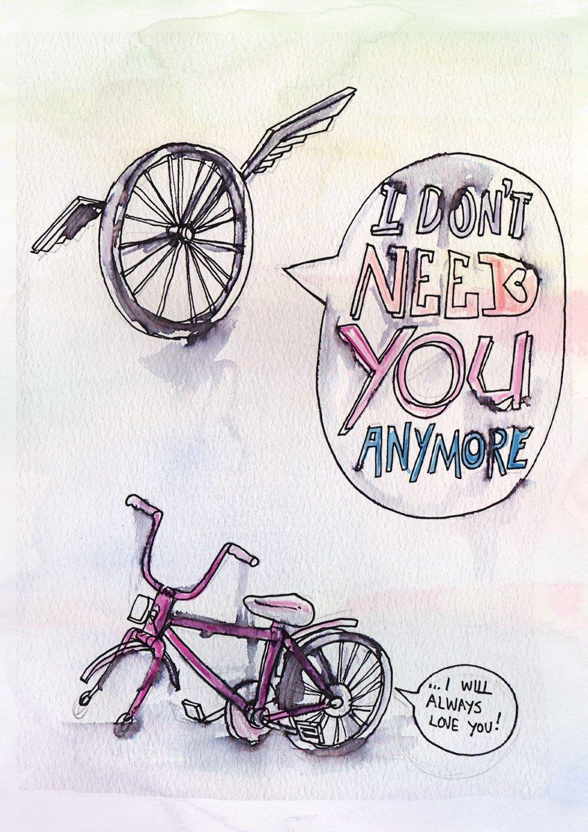 Typical bicycle break-up..  https://t.co/JUjZZbmwDV #ArtOfBreakingUp https://t.co/dG7MKmcX6i