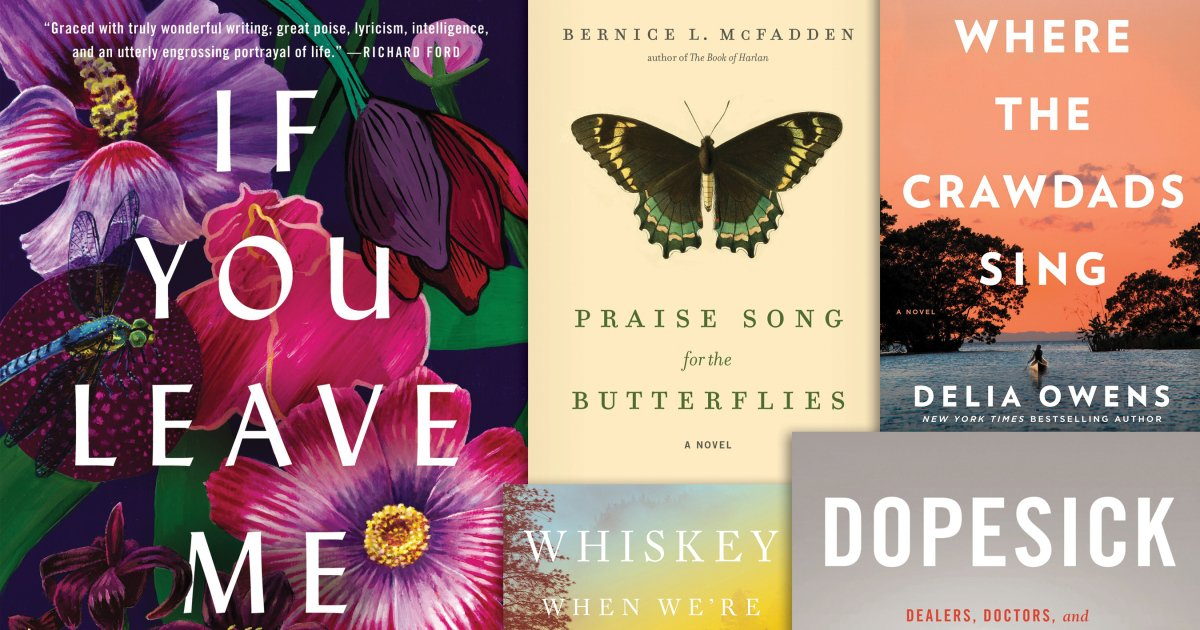 Here are August's 20 must-read new books: