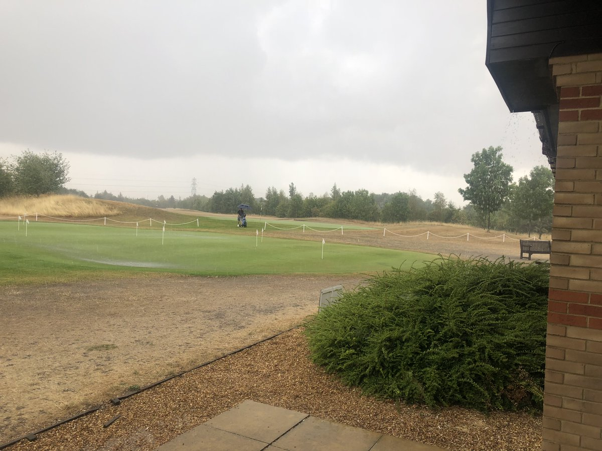 test Twitter Media - We're very happy to finally see some #rain but not sure the golfers out on the course are very impressed! https://t.co/HvvcWQYdBy