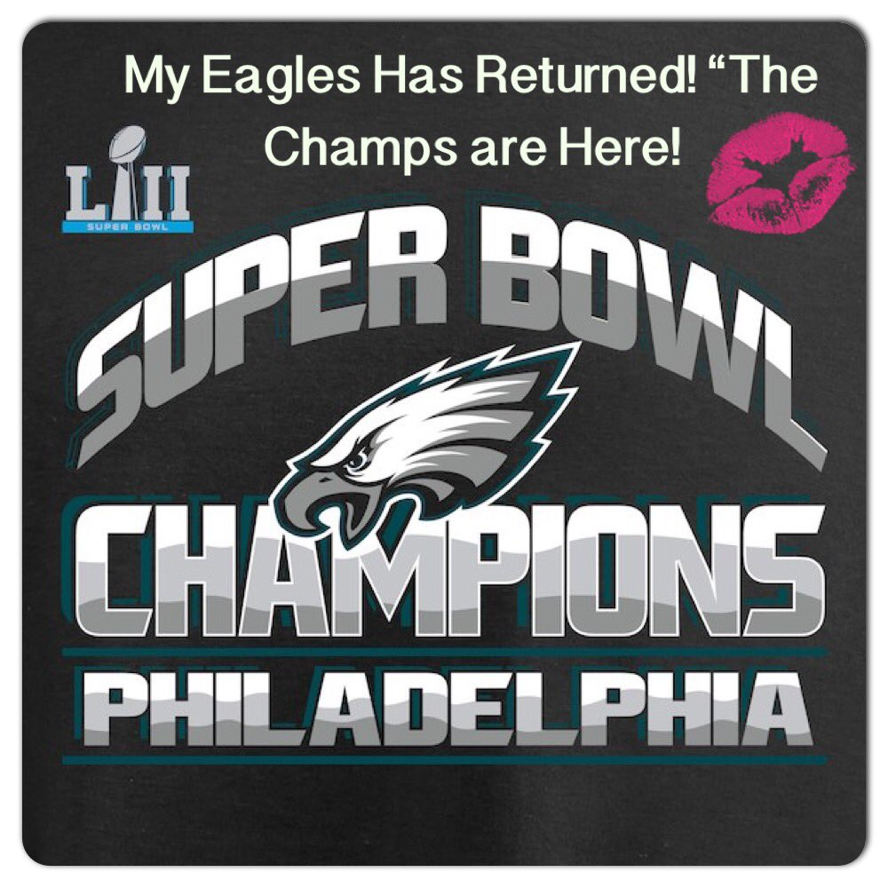 #Eagles 🏈#TheChampions Has Returned! Get Ready #preseason begins at 7pm EST🦅💚 R