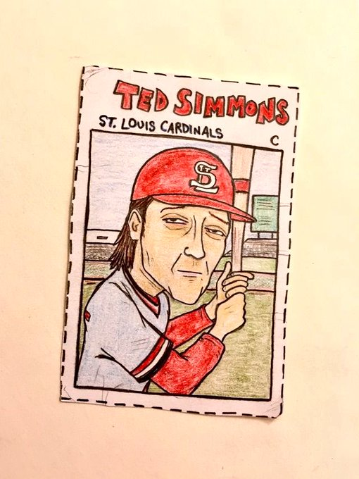 Happy birthday, Ted Simmons!