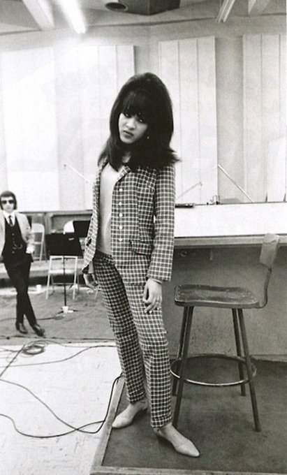 Happy birthday Ronnie Spector. Born this day in 1943 in Spanish Harlem.