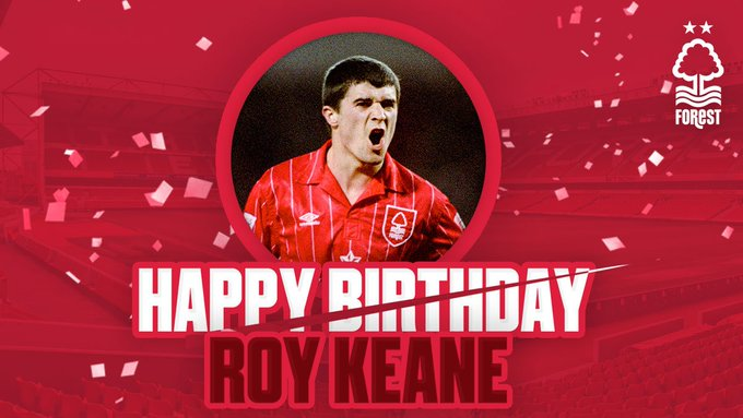 Happy birthday to the one and only Roy Keane.
