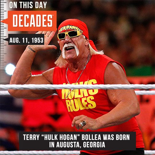 Happy Birthday Hulk Hogan! Who\s your favorite wrestler?