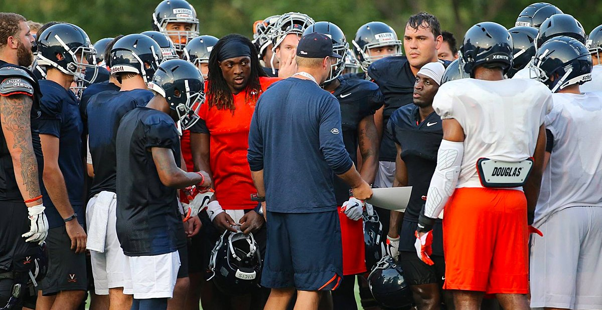 Bronco Mendenhall addresses #UVA injuries, freshmen who are stepping up, Dylan Thompson … https://t.co/zvGEN0f90F https://t.co/l9ROFBjRUD