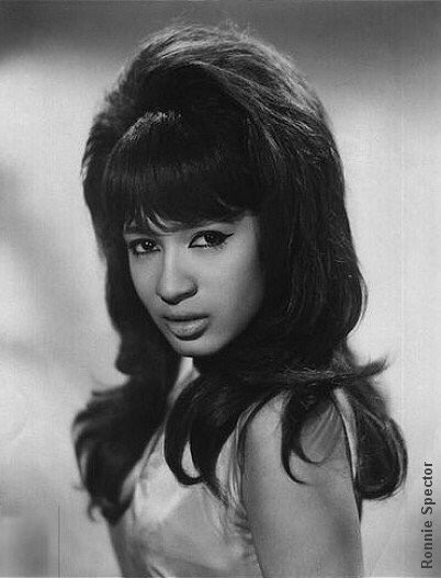 Happy 75th birthday to my favorite 60 s songstress, Ronnie Spector! I adore her!