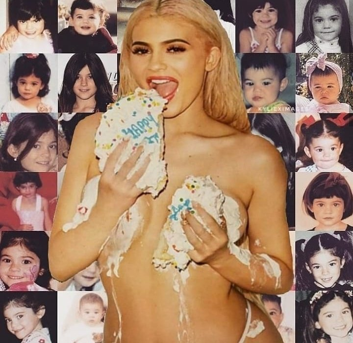 We don\t deserve you happy birthday Kylie Jenner
