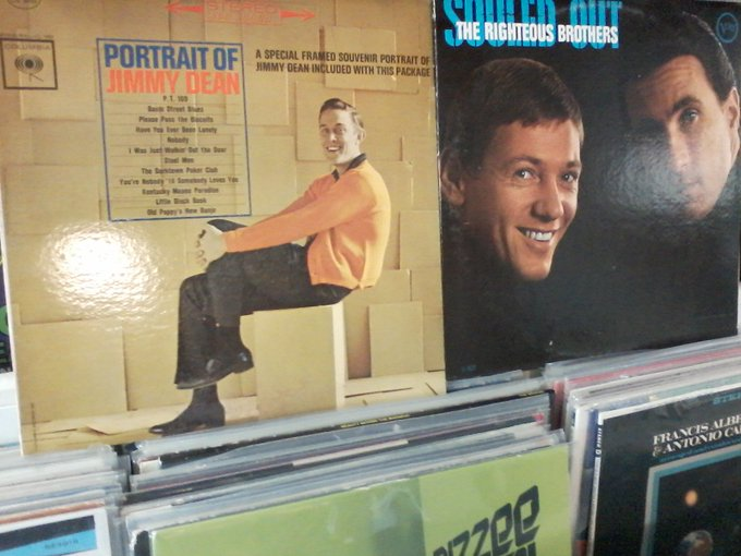 Happy Birthday to the late Jimmy Dean & the late Bobby Hatfield of the Righteous Brothers