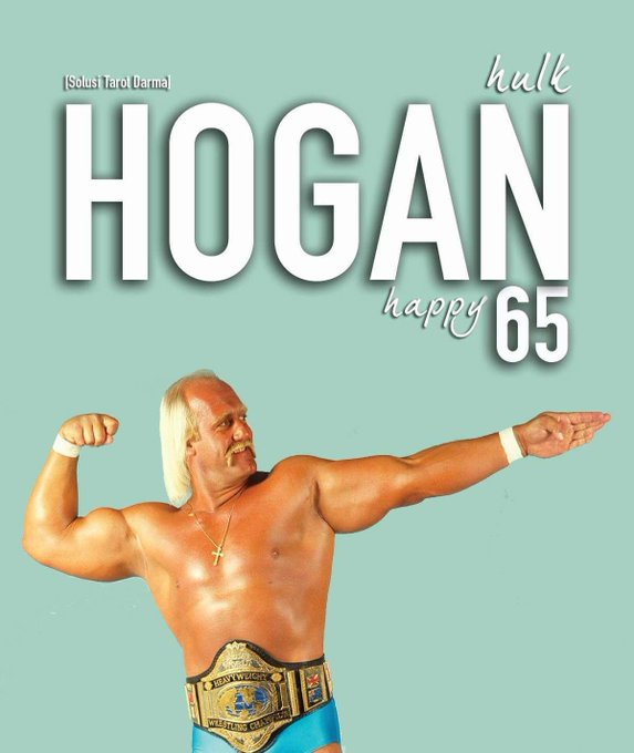 Happy Birthday Hulk Hogan