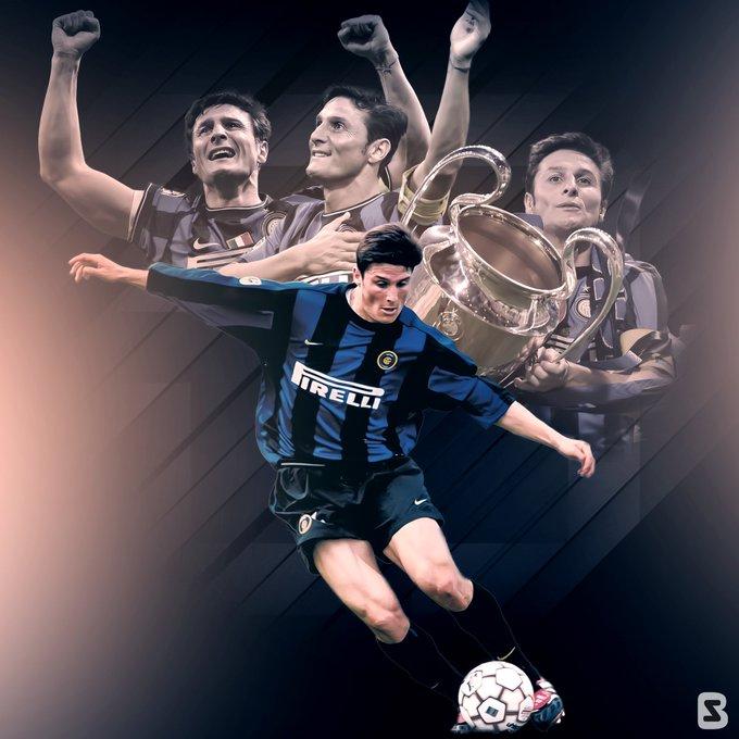 Happy 4  5  th birthday to Javier Zanetti !