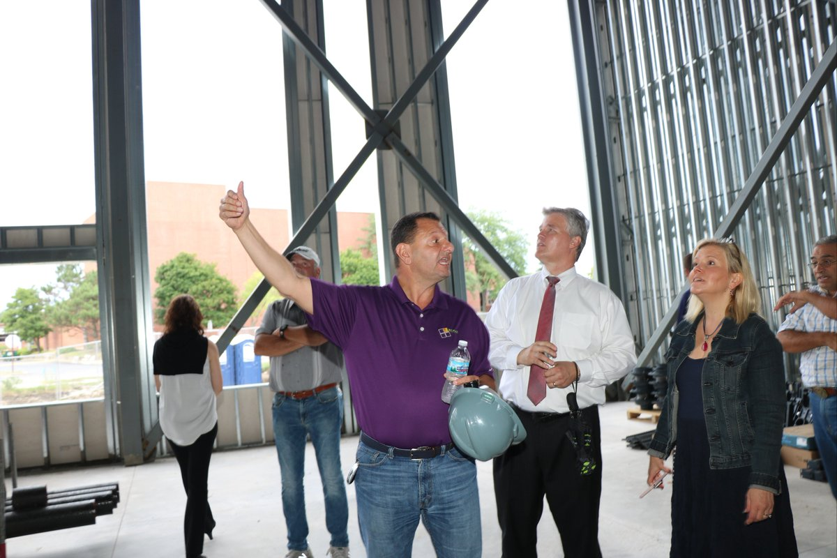 "test Twitter Media - ""We're on schedule!"" Board members toured the new Maple School on August 9 with administrators and principals! #d30learns https://t.co/ApeUOBdqj8"