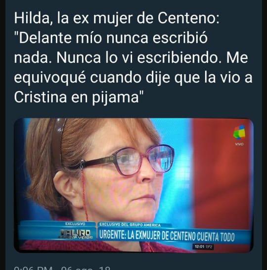 RT @CharlyMillo79: Hilda se equivoco, dijo Hilda  #RiesgoPais  #ViernesIntratable https://t.co/0xUW3EE9U3