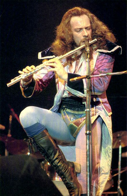 Happy Birthday to Ian Anderson of Jethro Tull!