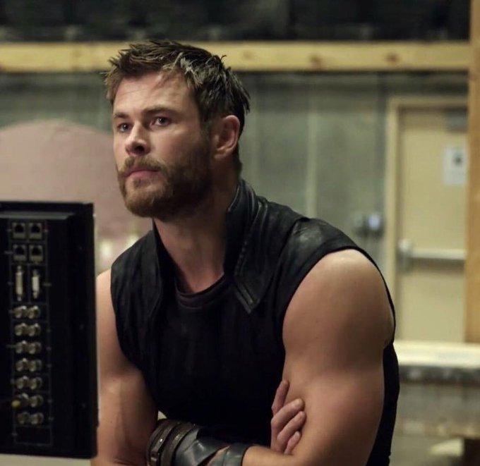 Happy 35th birthday to our Chris Hemsworth aka God of Thunder