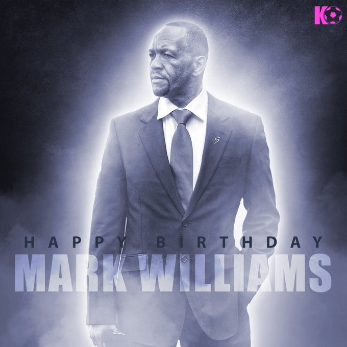 The Bafana Bafana legend turns 52 today! Join in wishing Mark Williams a Happy Birthday!