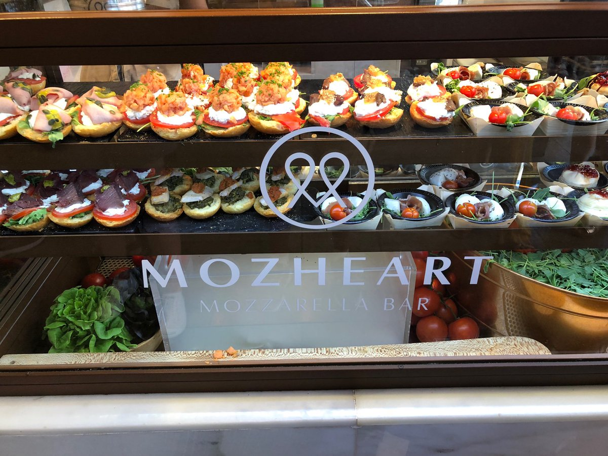 Highly recommend Mozheart at Mercado de San Miguel in Madrid - so good! https://t.co/vLJ1sR1yM8