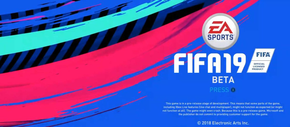 Discover everything about the #FIFA19Beta: https://t.co/VlkarHoQdG https://t.co/VrvxchzAuq