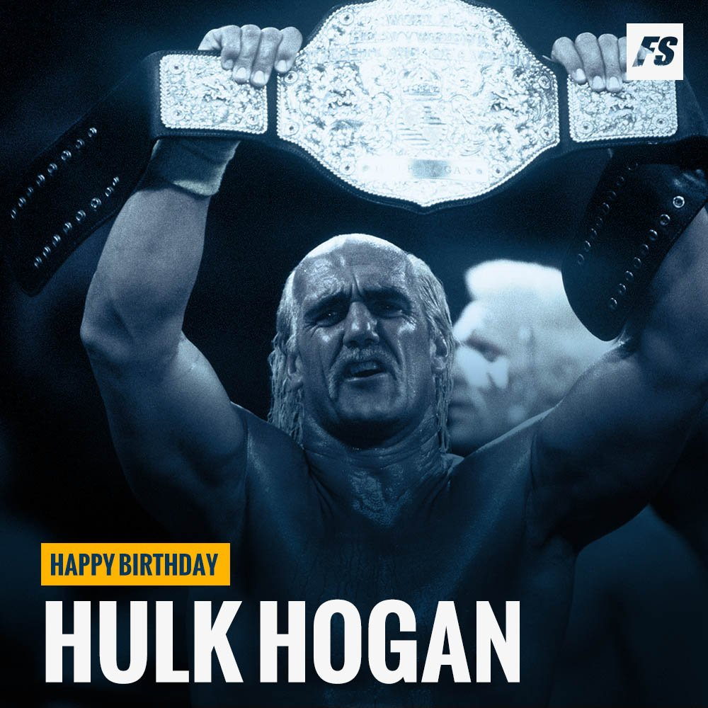 Happy birthday to one of the greatest professional wrestlers of all time, Hulk Hogan (