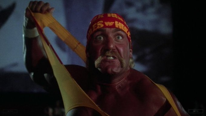 Hulk Hogan is now 65 years old, happy birthday! Do you know this movie? 5 min to answer!