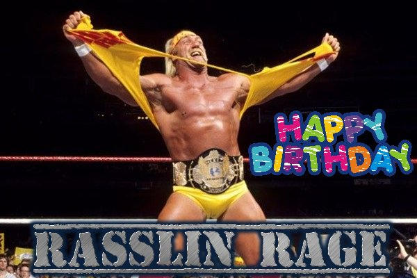 Happy Birthday to Hulk Hogan!