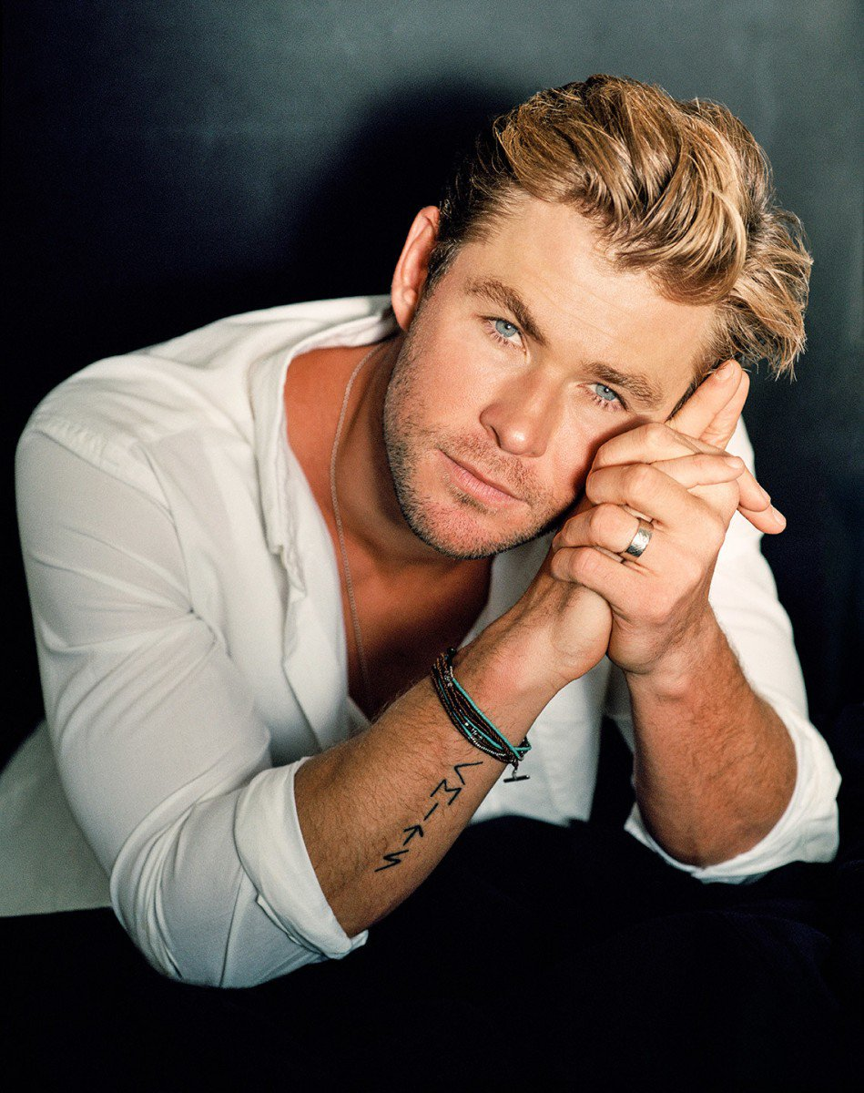 Happy 35th Birthday to the God of Thunder, Chris Hemsworth!