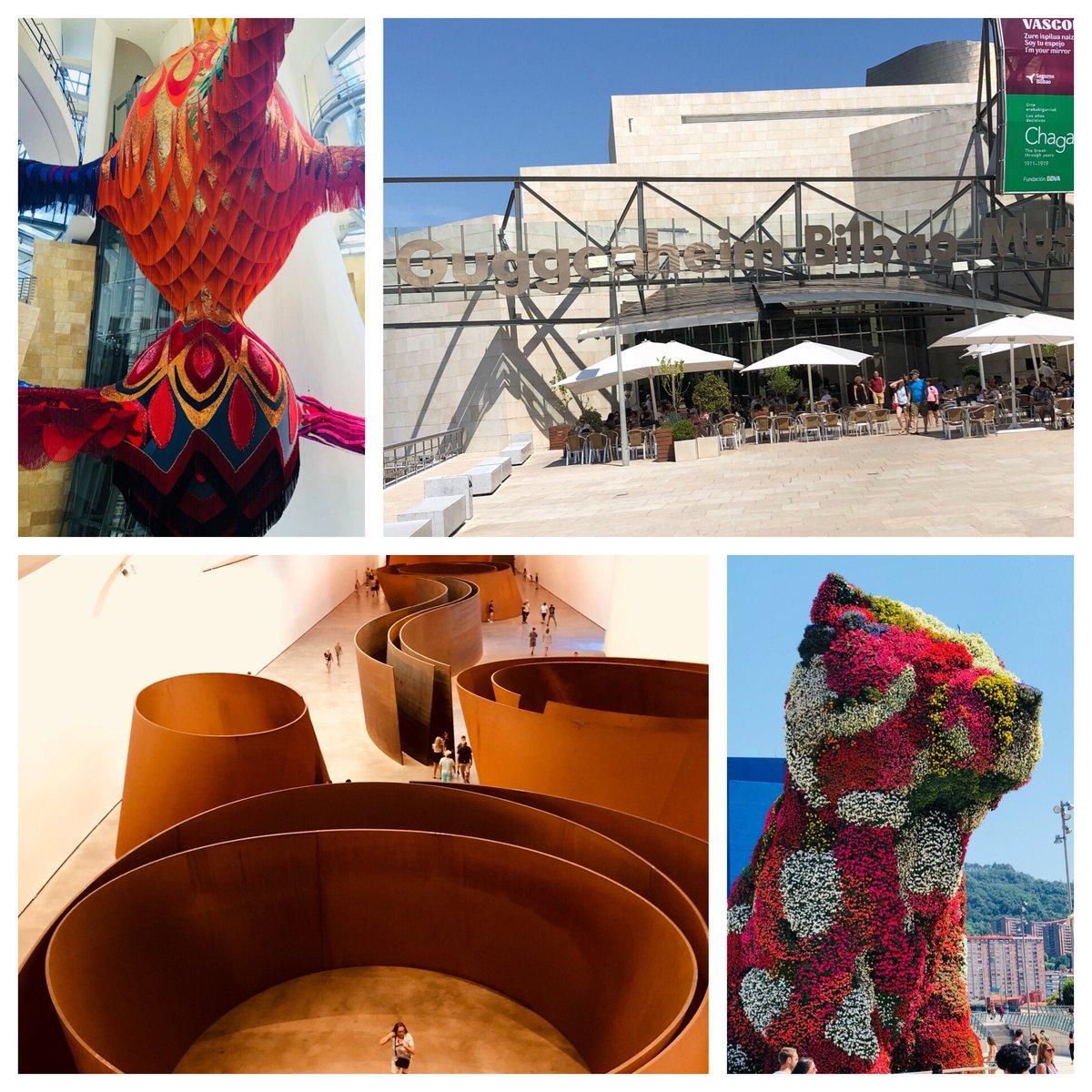 Today's adventure: Guggenheim Bilbao! https://t.co/bczHiwZoFl
