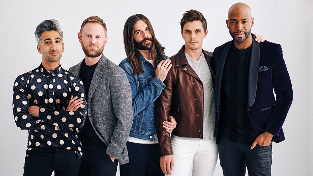 Tune into our Instagram story for some bts shots of the Fab5: @QueerEye @GLSEN
