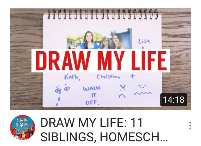 New Video Ah We Did A Draw My Life Scoopnest Com