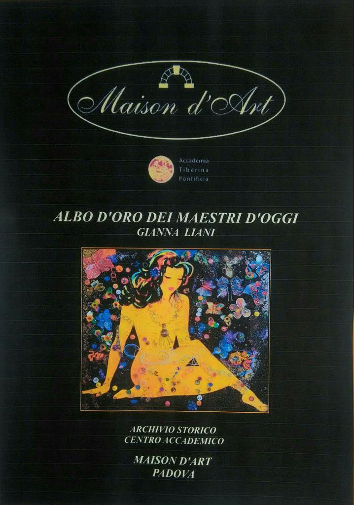 test Twitter Media - Albo d'oro dei Maestri d'oggi in copertina Gianna Liani - MAISON D'ART PADOVA https://t.co/byy0nPWvCA